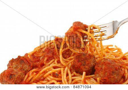 Spaghetti Closeup
