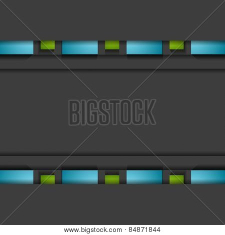 Vibrant corporate abstract background. Vector design