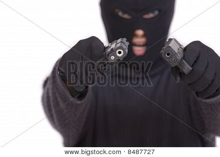 Terrorist With Guns