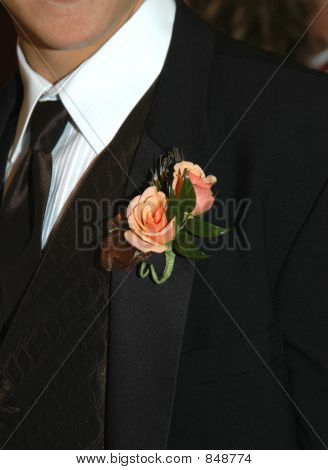Lapel Corsage for the Prom