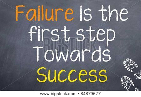 Failure is the First Step
