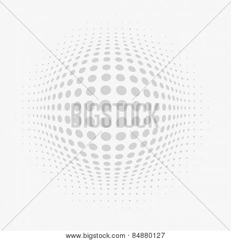 Vector Halftone Texture.