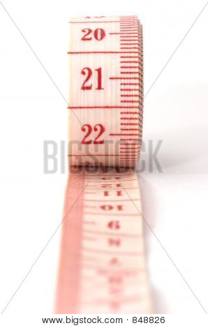 Rolling Out Measuring Tape