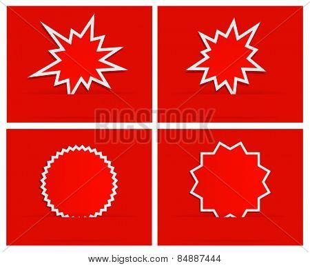 starburst splash star design background banner