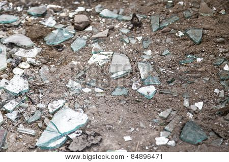 Shards Of Glass For Backgrounds And Overlays