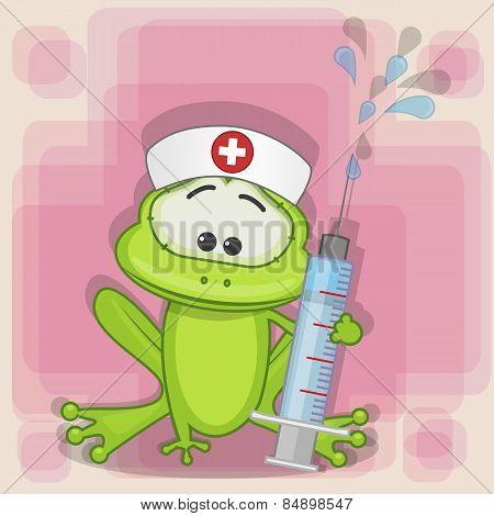 Frog Nurse