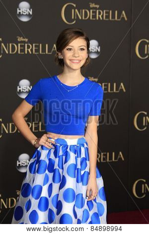 LOS ANGELES - MAR 1:  G. Hannelius at the