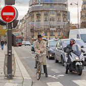 picture of intersection  - Paris - JPG
