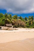 stock photo of pacific islands  - Nosy Iranja the beautiful little island of Madagascar made up of two islands - JPG