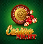 picture of crap  - Casino background with cards - JPG