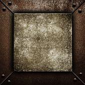 image of crude  - crude iron background - JPG