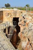 picture of underground water  - antique underground reservoir - JPG