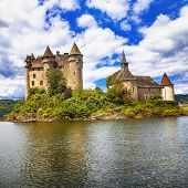 image of chateau  - fairy castles of Europe series - JPG
