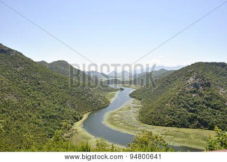 Crnojevica River, Montenegro