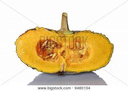 Thai pumpkin splited