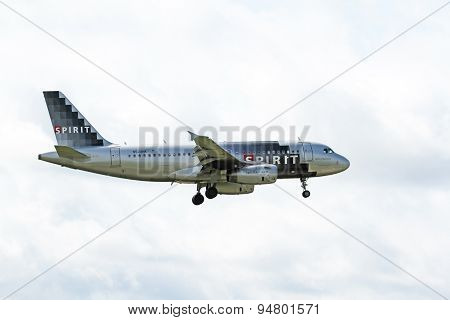 Spirit Airlines Airbus A319-132
