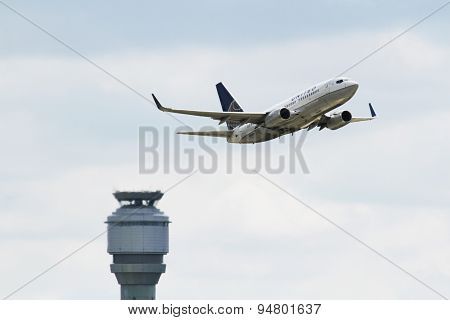 United Airlines Boeing Boeing 737-724