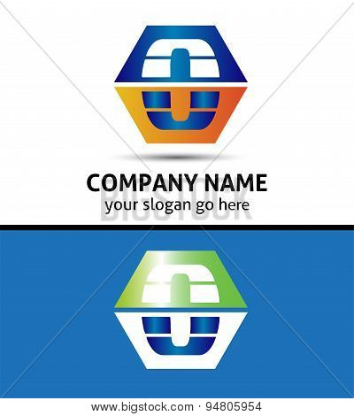 Letter O logo icon template design