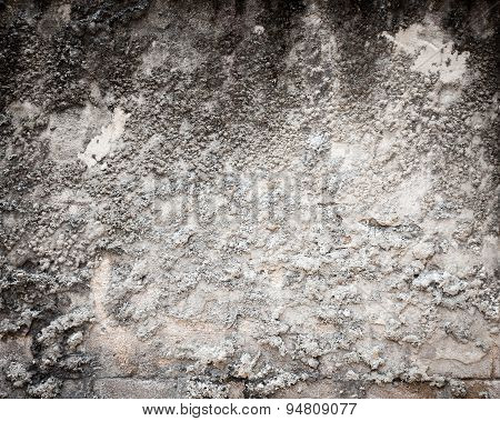 Gritty Textured Wall