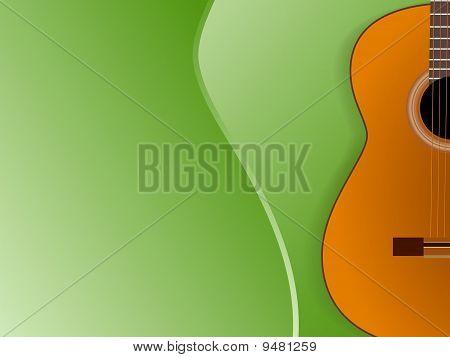 Guitar Concert Banner  Template