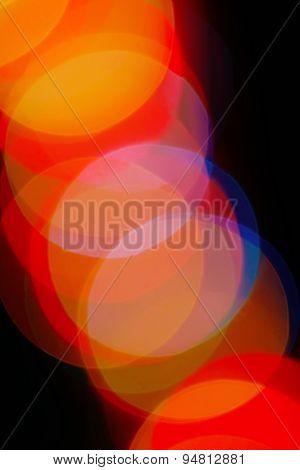 Bokeh Color Spots