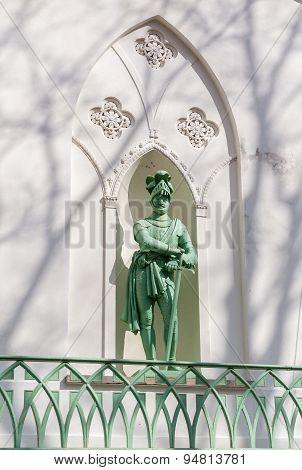 Sculpture Of Medieval  Warrior