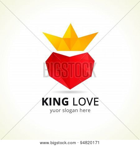 King love logo