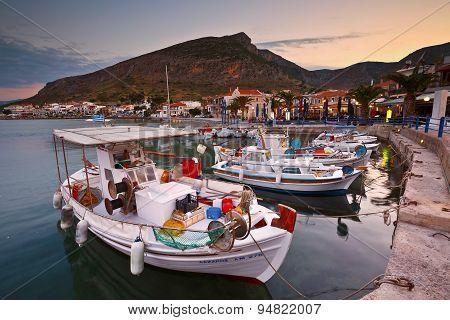 Monemvasia in Greece.