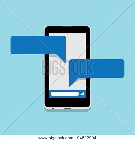 Smart Phone Chatting