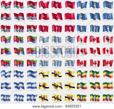 Kiribati, Isle Of Man, Marianna Islands, Eritrea, Uruguay, Canada, Nicaragua, Brunei, Ethiopia4. Big