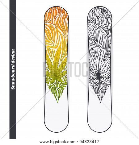 Snowboard Design Three