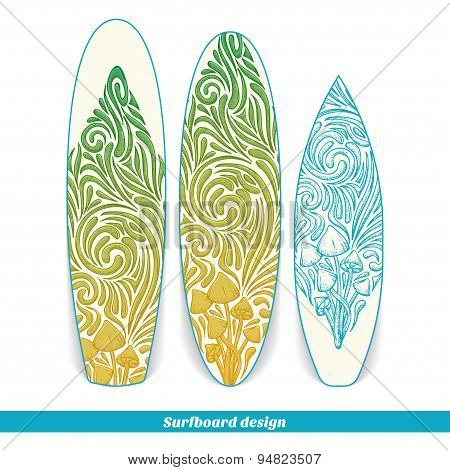 Surfboard Design Five