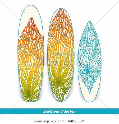 Surfboard Design Three