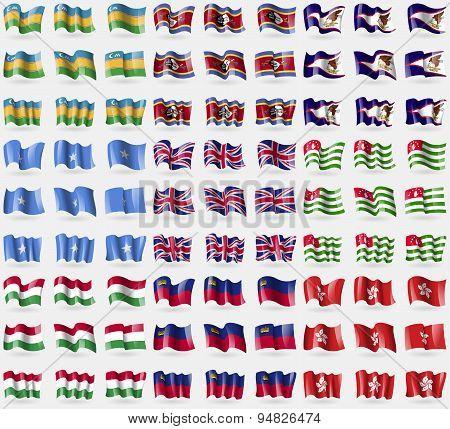 Karakalpakstan, Swaziland, American Samoa, Somalia, United Kingdom, Abkhazia, Hungary, Liechtenstein