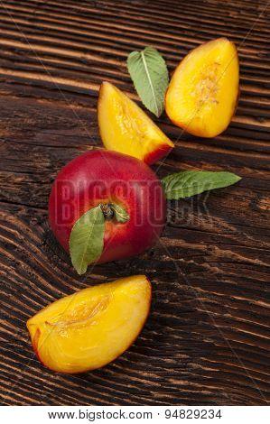 Nectarine Background.