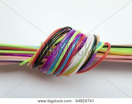Host Of Colorful Ropes