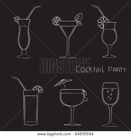 Cocktail black