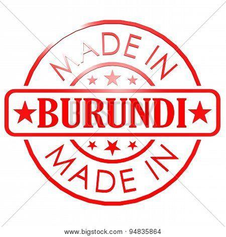 Made In Burundi Red Seal