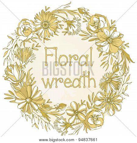 Gorgeous Floral wreath