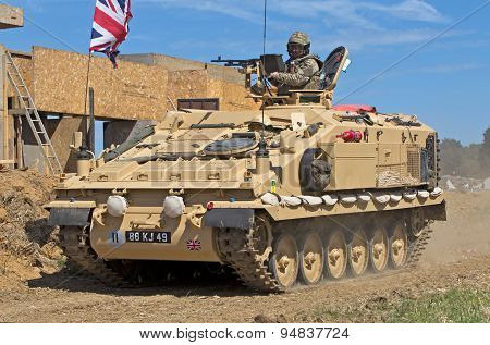 British army APC
