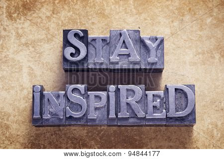 Stay Inspired Met