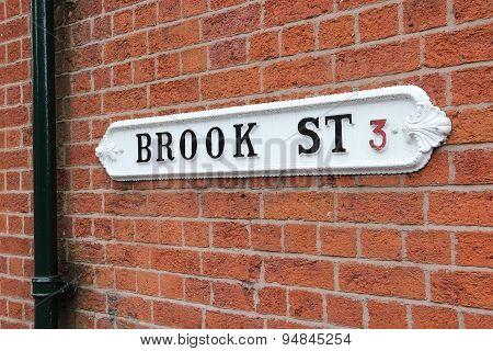Vintage Street Sign