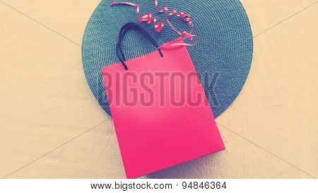 Gift Pack Red Bag with Bow