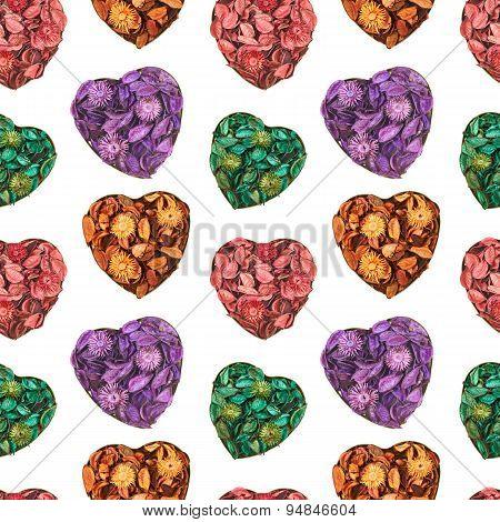 Heart medley potpourri pattern