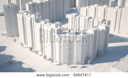 conceptual image of buildings