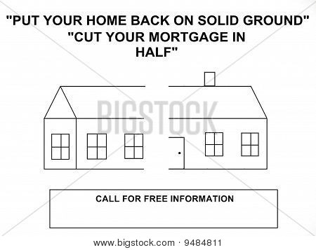 Refinance Home Mortgage Sign
