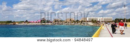 Panorama Of Costa Maya, Mexico