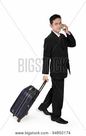 Young Entrepreneur On Trip
