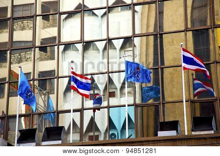Bangkok Terrace  Thailand  In Office      Flag  The   Modern Building Line