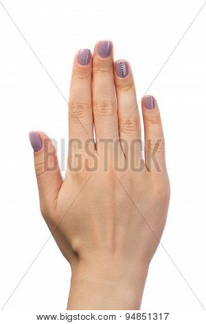 Female Hand Manicure
